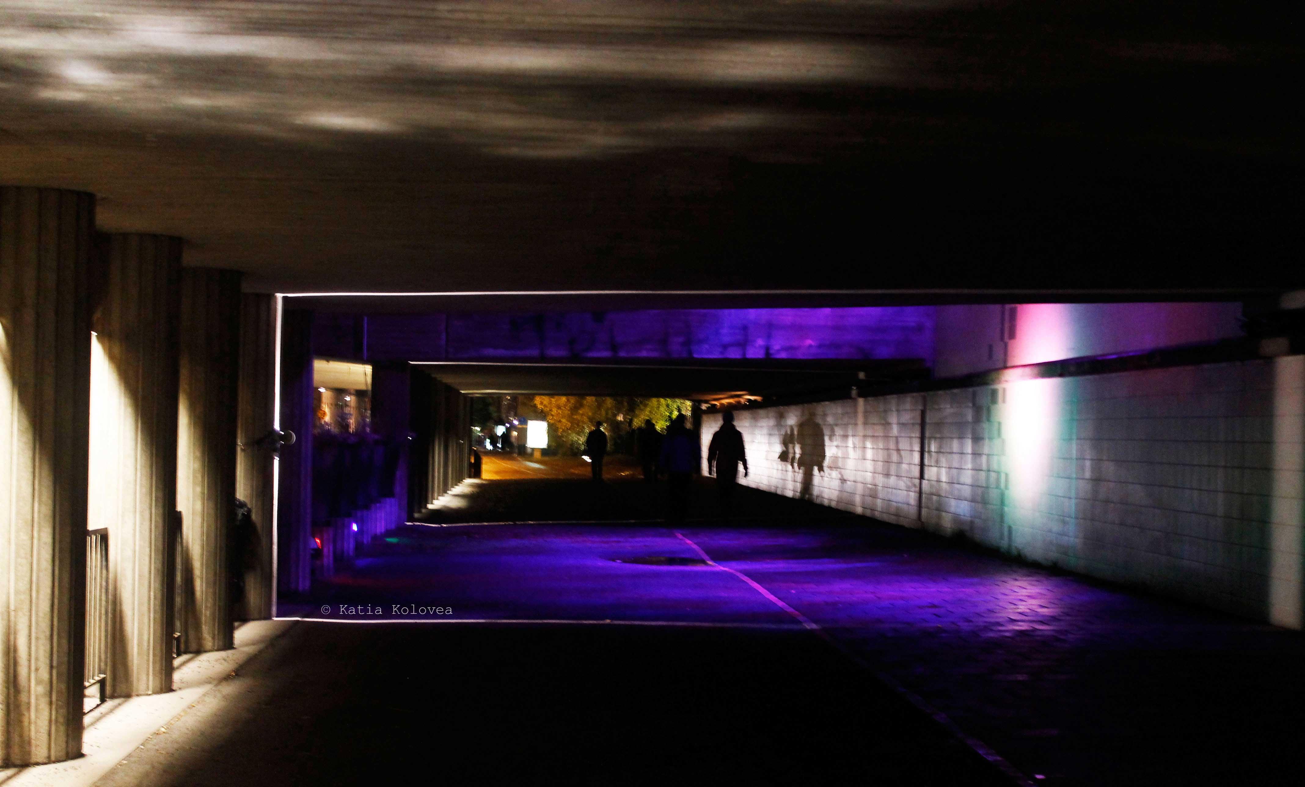 KTH Nattljus festival installation