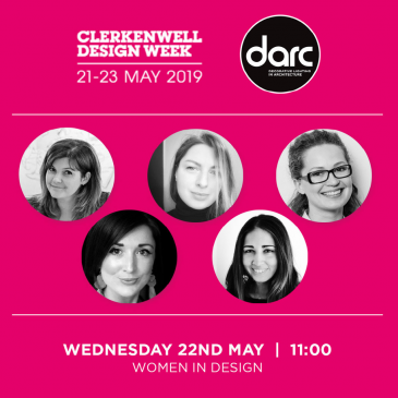Women in Lighting panel @Clerkenwell Design Week 2019