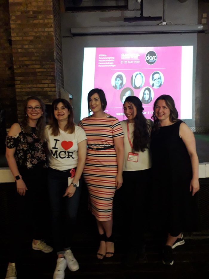 All panelists_women in lighting at Clerkenwell Design Week