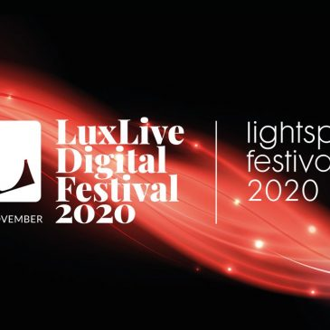 We are speaking at the LuxLive Digital Festival 2020