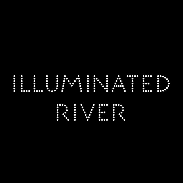 illuminated river logo