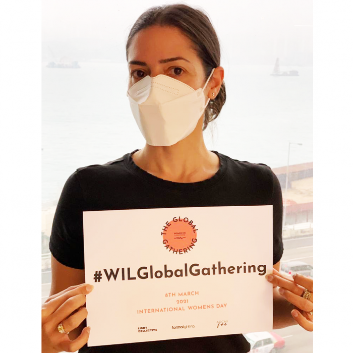 WIL Global Gathering sign challenge