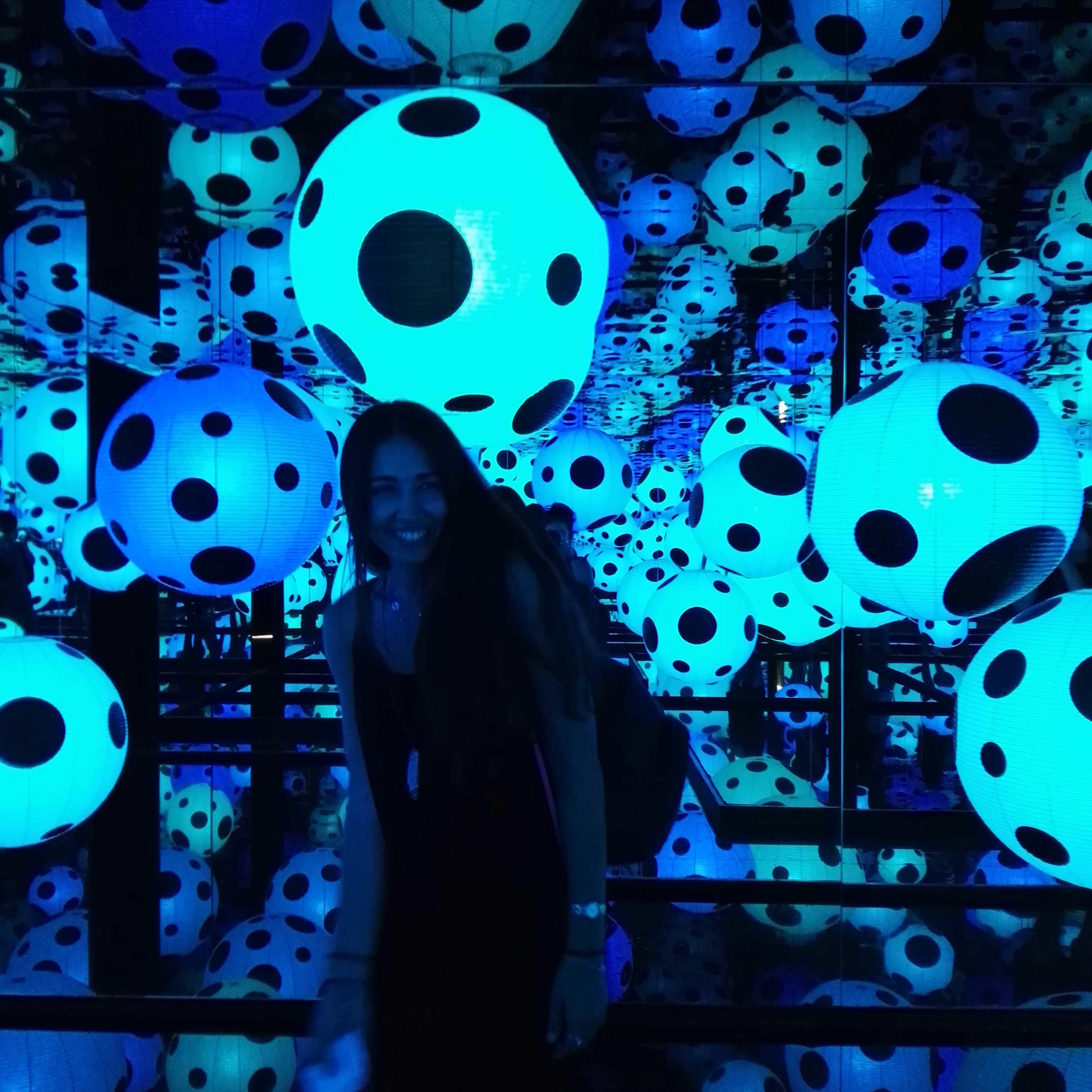 Visit Yayoi Kusama exhibition