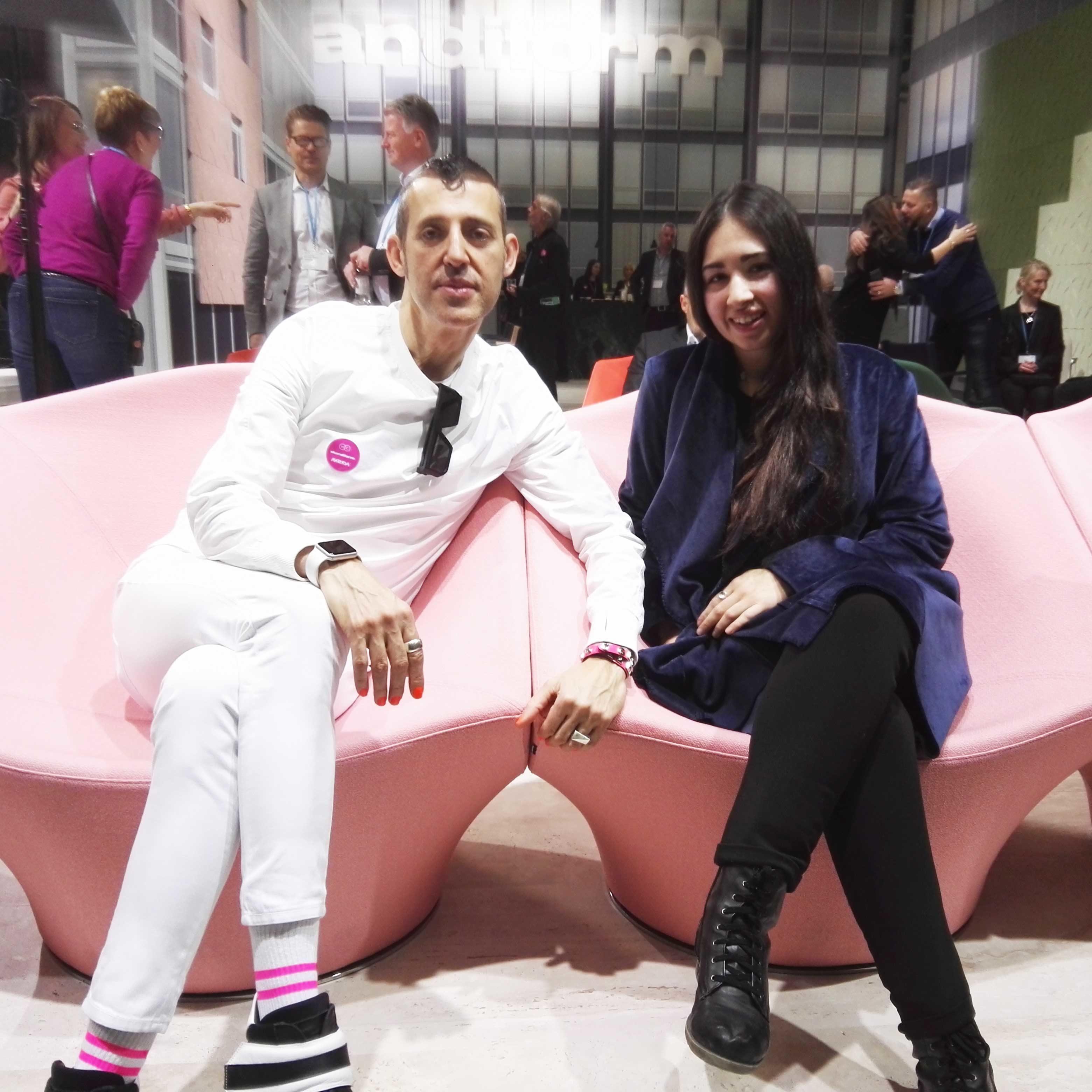 Meeting my designer idol