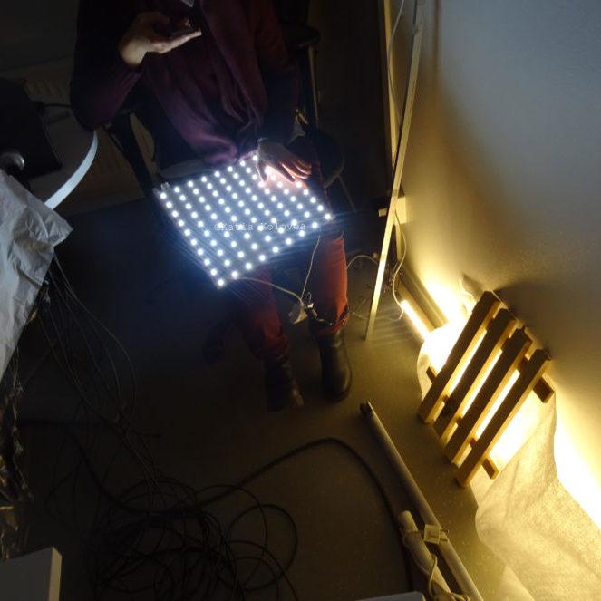 KTH mock up light project